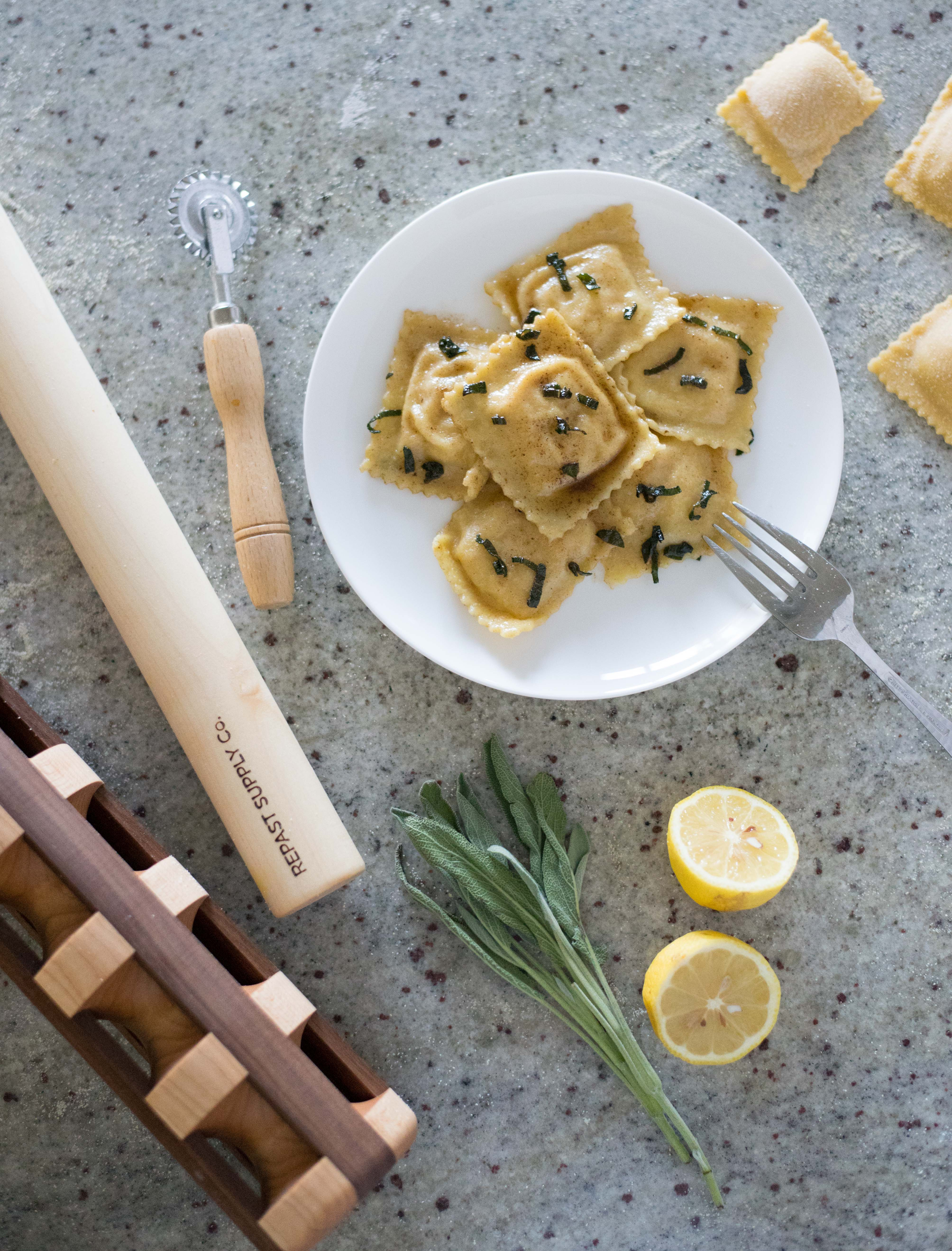Product photography repast supply co ravioli tools