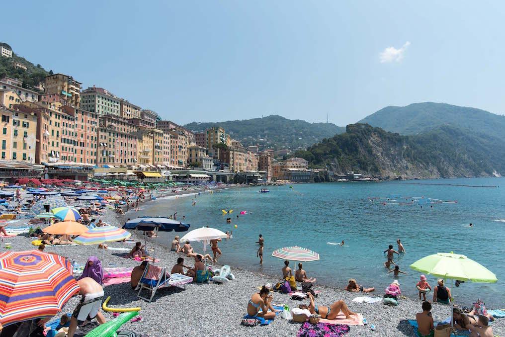 Camogli, Italy Beach