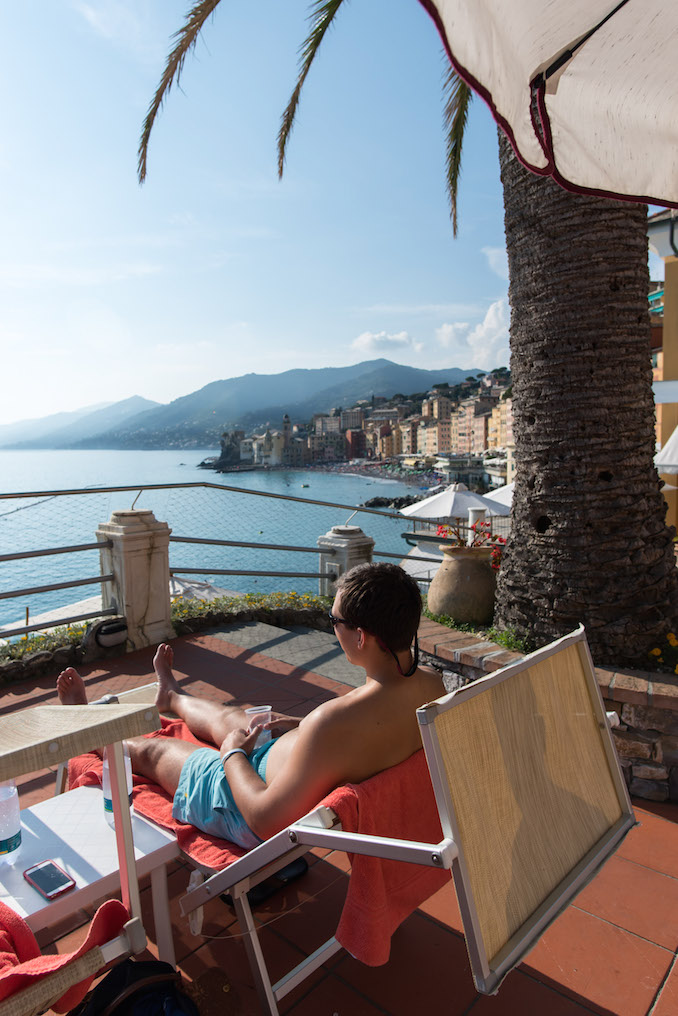 Pool View at Hotel Cenobio dei Dogi | Camogli, Italy