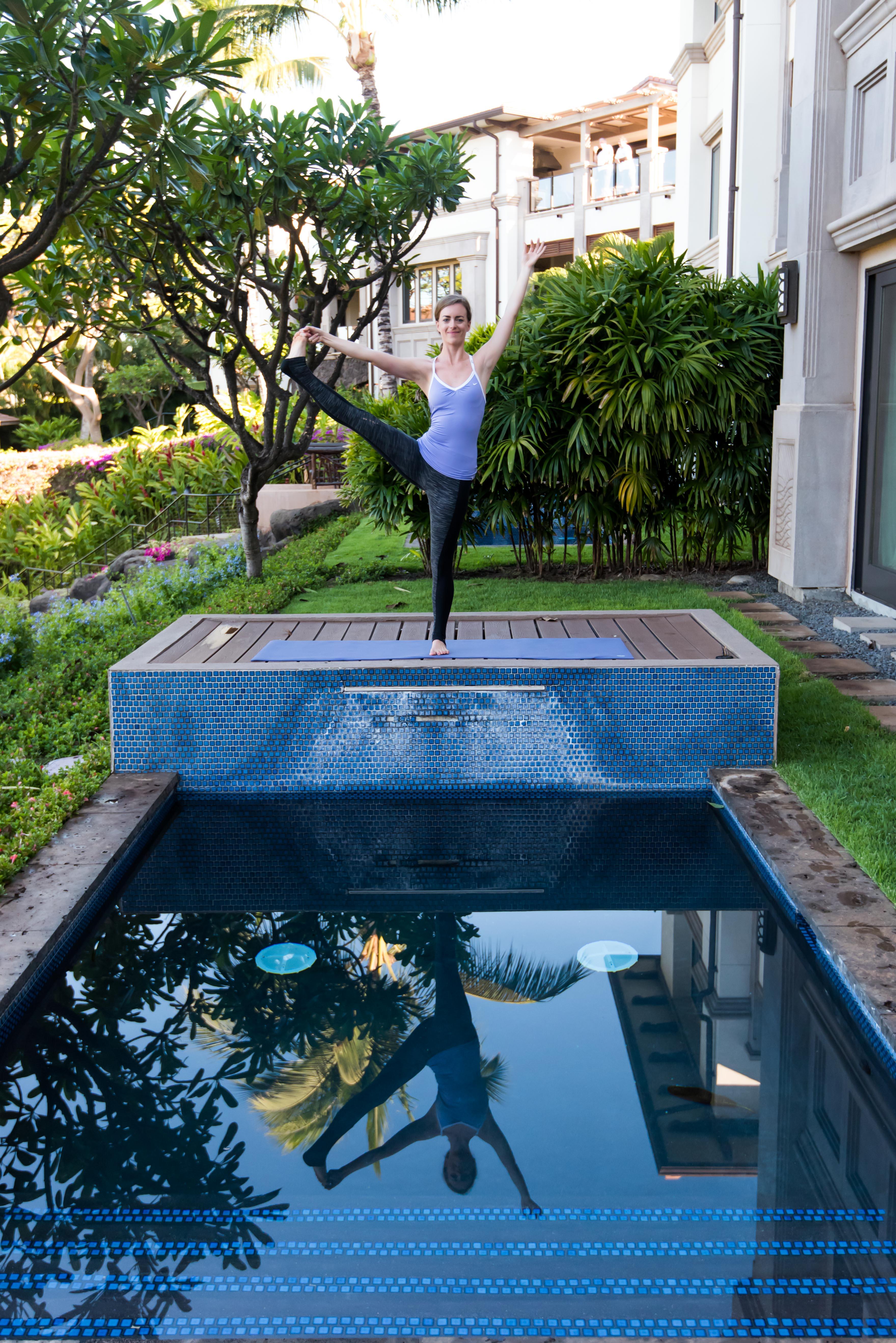 Yoga Plunge Pool Maui