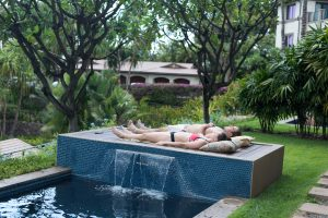 Nap by Plunge Pool Maui