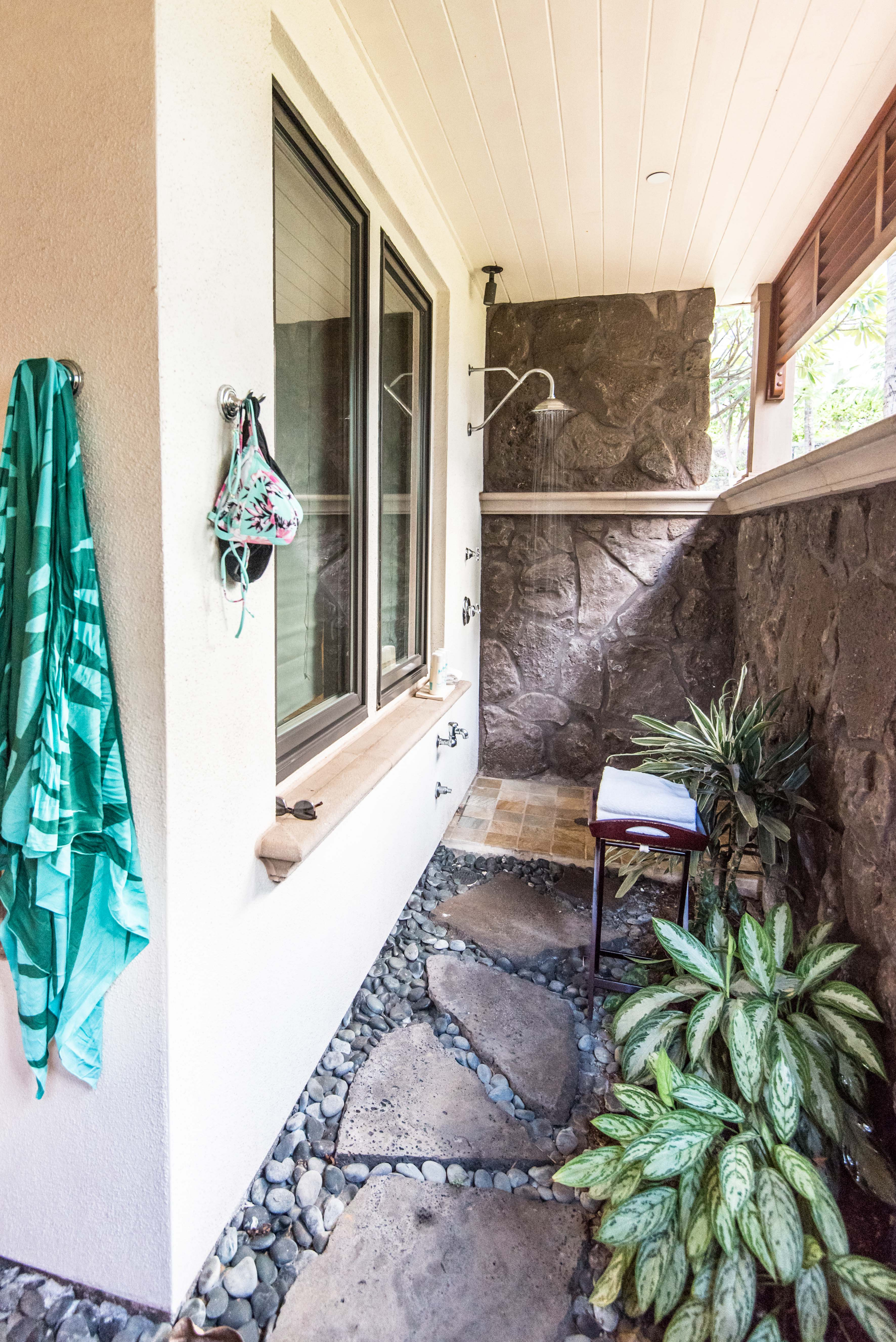 Wailea Beach Villas Outdoor Shower Maui