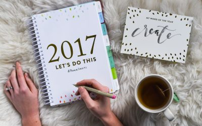 My 2017 Goals + Powersheets Giveaway!