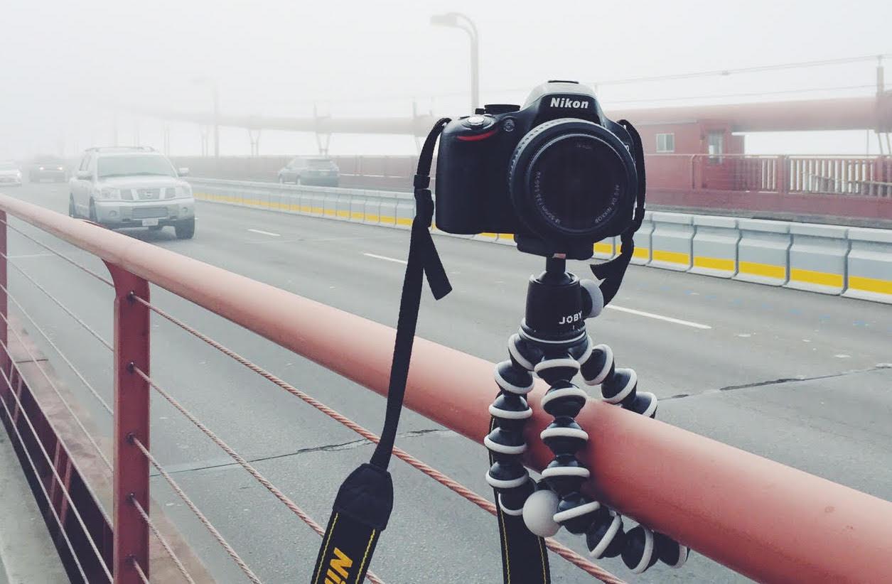 A photographer's must-have travel accessory: a flexible Gorillapod tripod