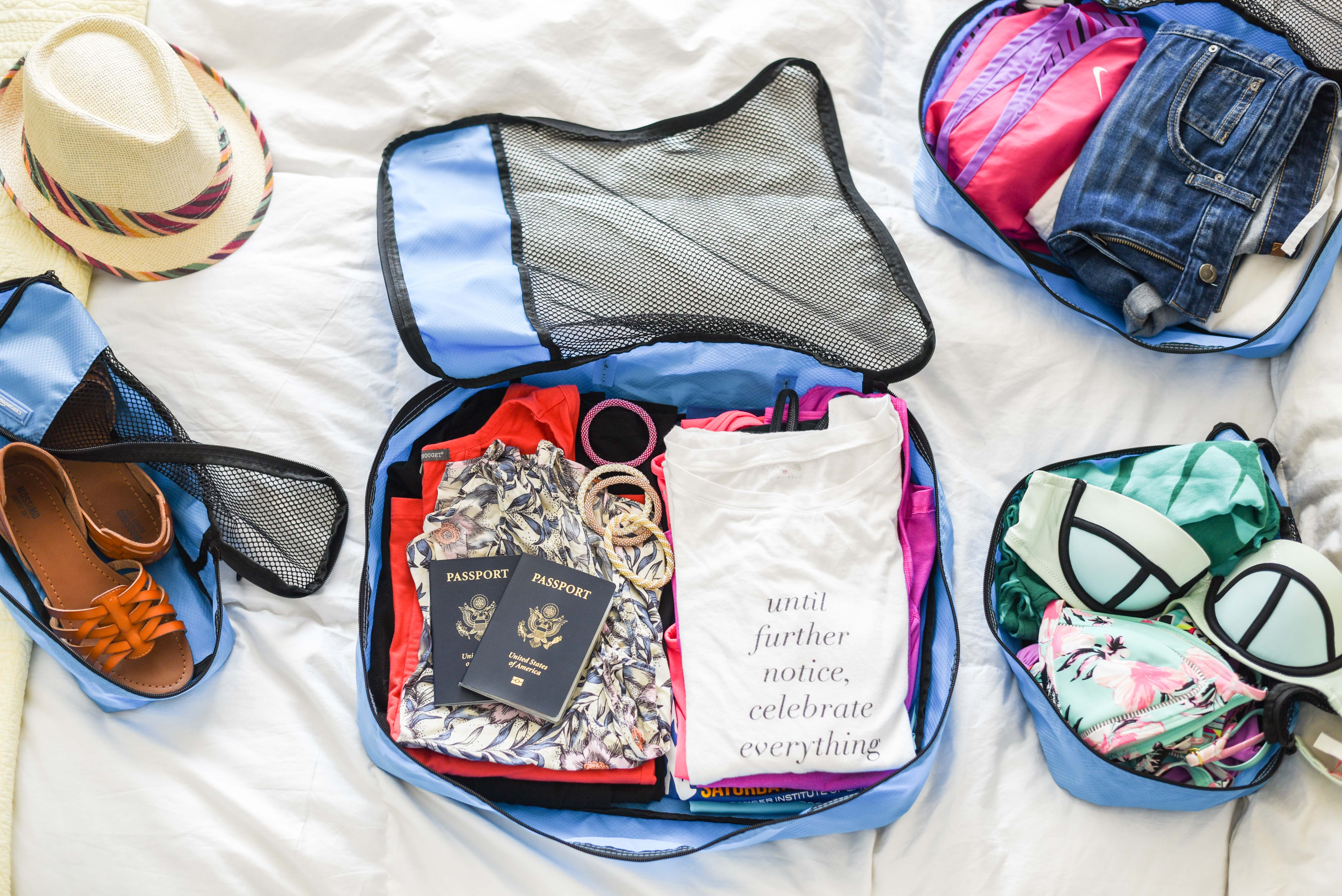 Packing cubes are my new favorite travel accessory!