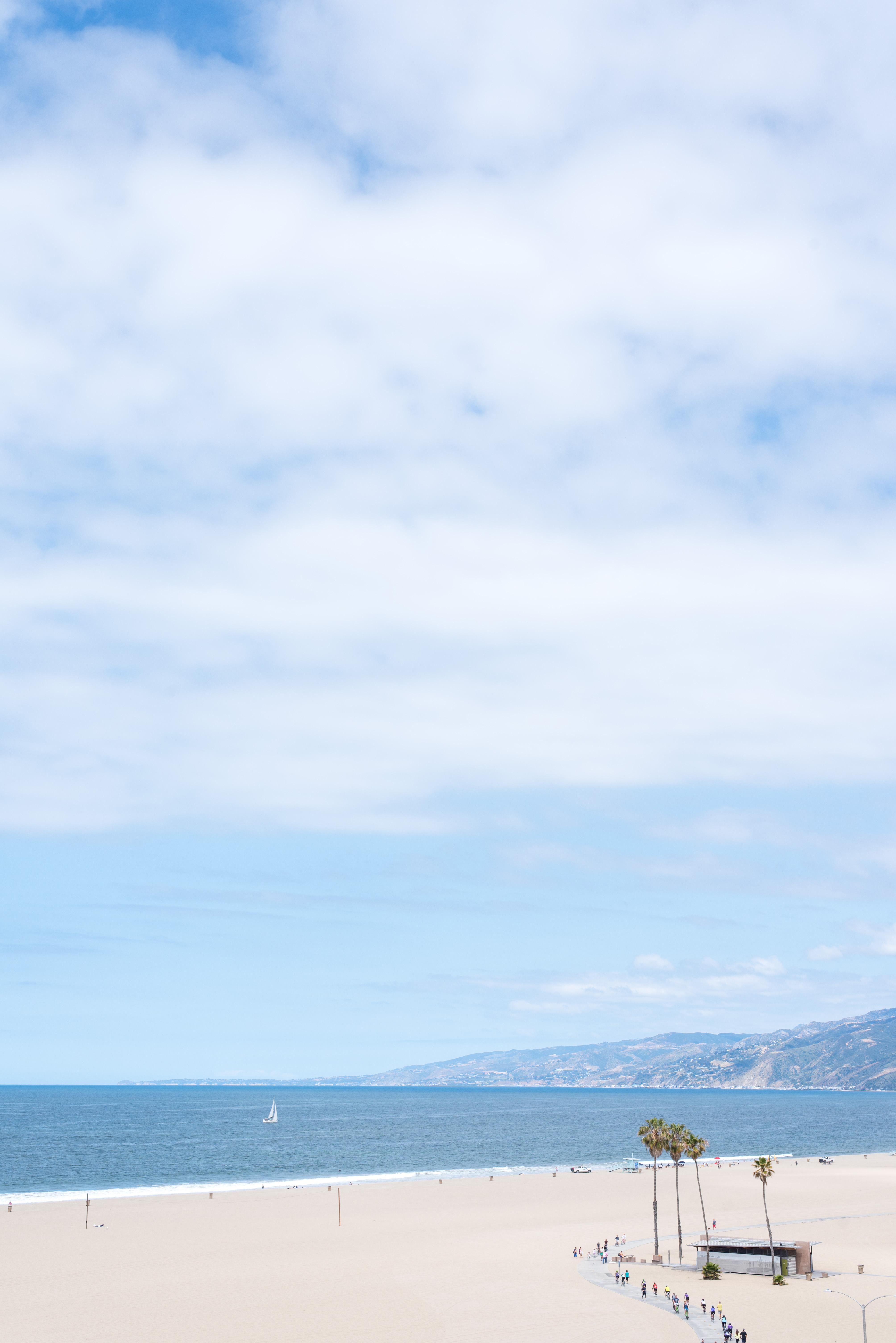 Santa Monica Beach LA