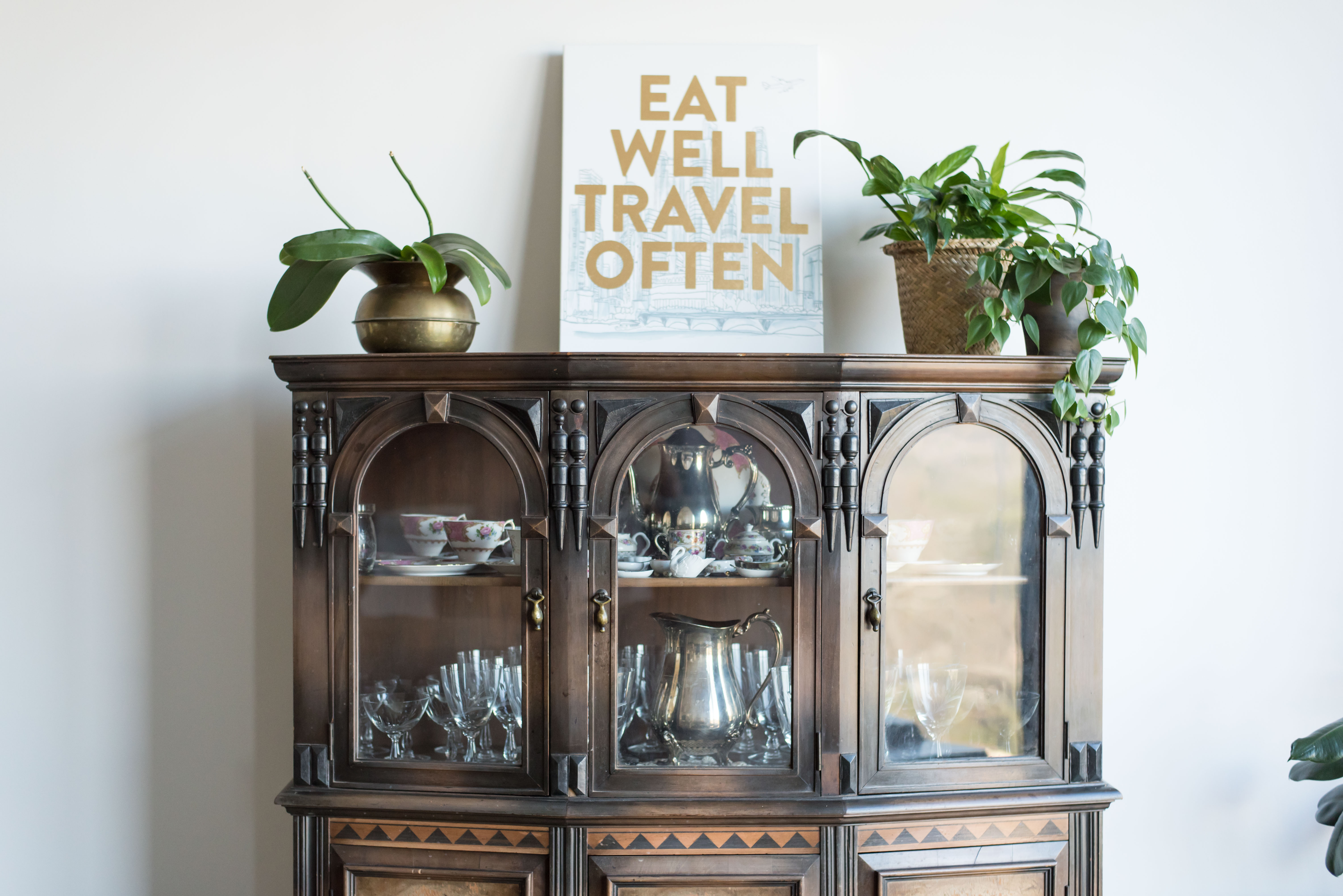 China cabinet | Eat well, travel often