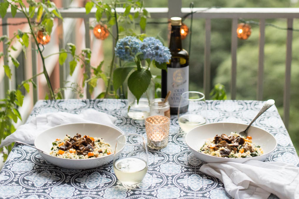 How to make a basic risotto for two | kenanhill.com