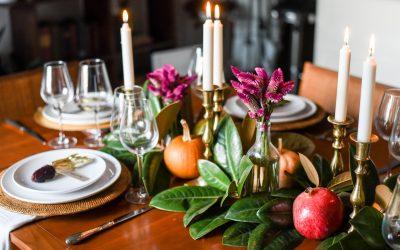 My Seasonal Thanksgiving Table